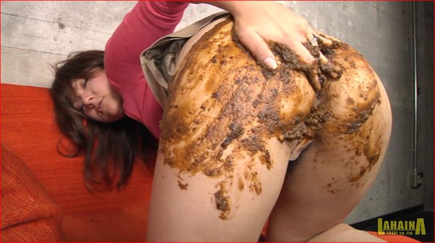 美熟女の脱糞ウンコアナルオナニー